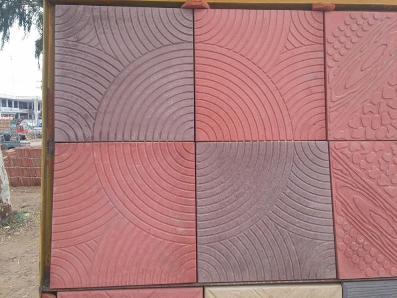 Corridor Decoration Exterior Floor Tiles Non Slip Photos