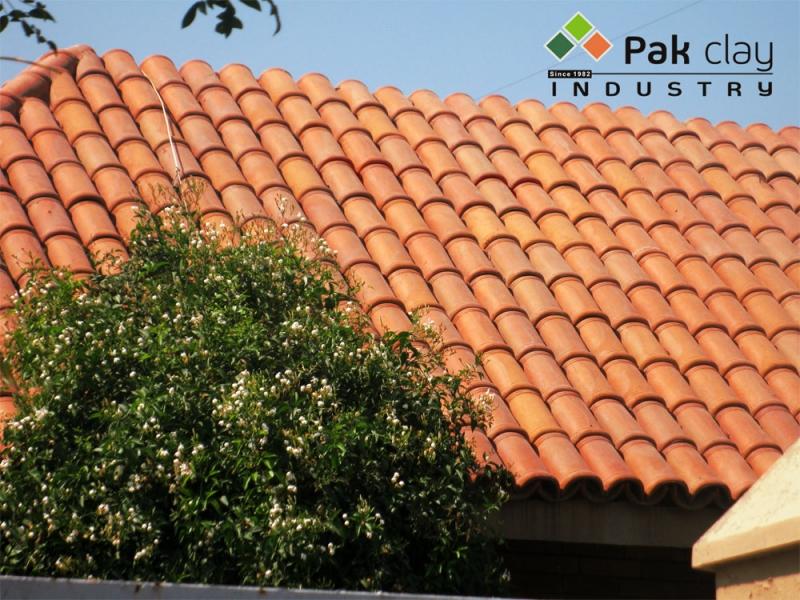 Barrel Mission Khaprail Tile 4 Pak Clay Floor Tiles