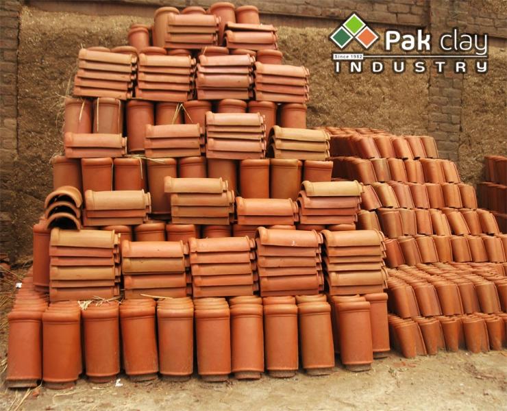 Barrel mission khaprail tile 4 pak clay floor tiles for Barrel tile roof colors