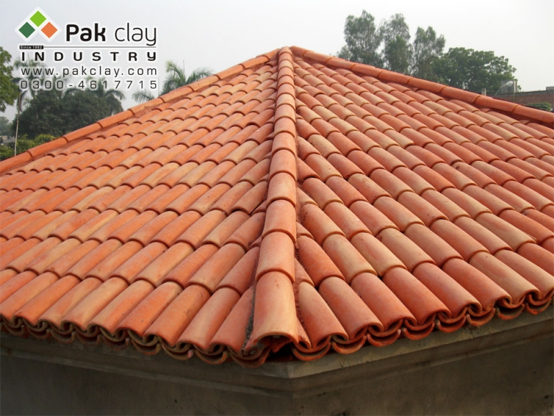 Barrel murlee tiles 11 pak clay floor tiles pakistan for Roof tile patterns