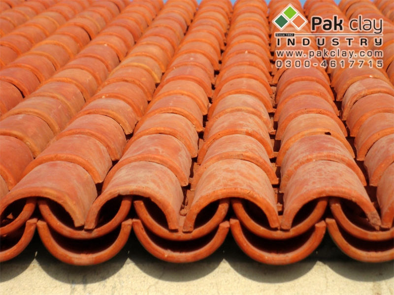 Barrel Murlee Roofing Tiles 9 Pak Clay Floor Tiles Pakistan