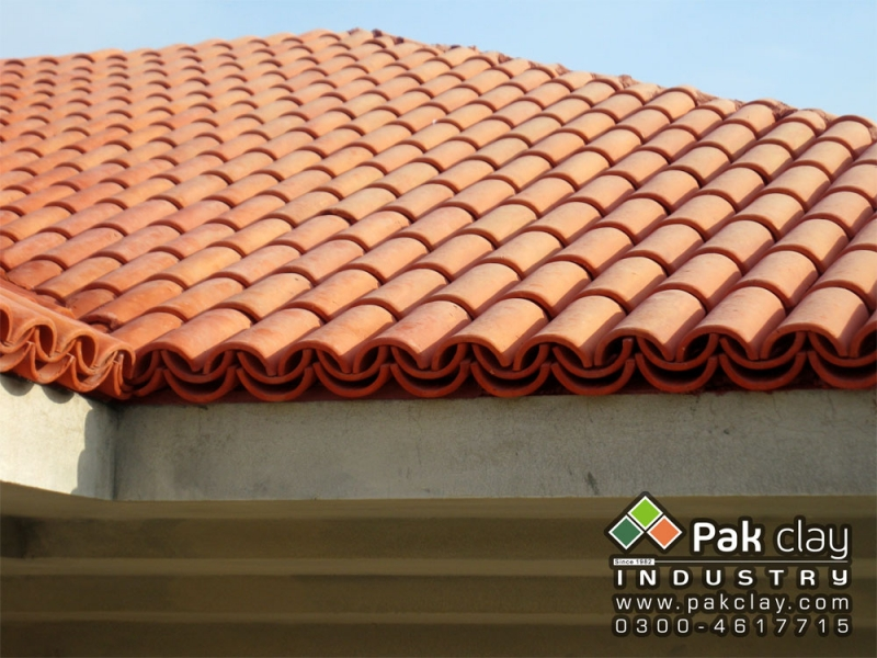Barrel murlee roofing tiles 9 pak clay floor tiles pakistan for Roof tile patterns