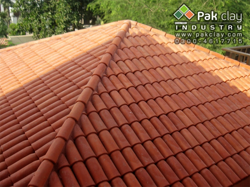 Barrel Murlee Roofing Tiles 9 Pak Clay Floor Tiles Pakistan