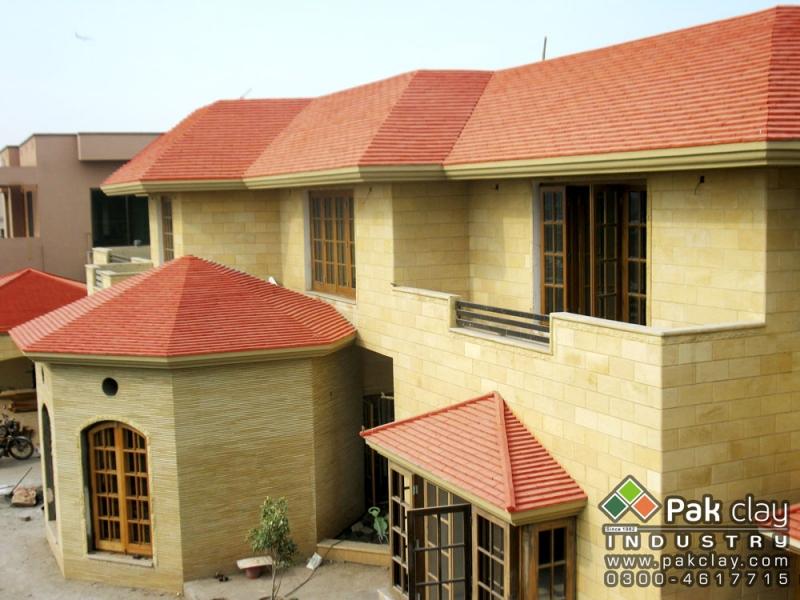 Flat Tiles 12 X4 Pak Clay Floor Tiles Pakistan