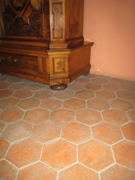 Hexagon Tiles 6x6x1 Pak Clay Floor Tiles Pakistan