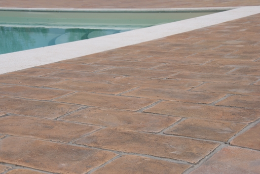 Terracotta floor tiles in the category kitchen rectangular for Terrace tiles