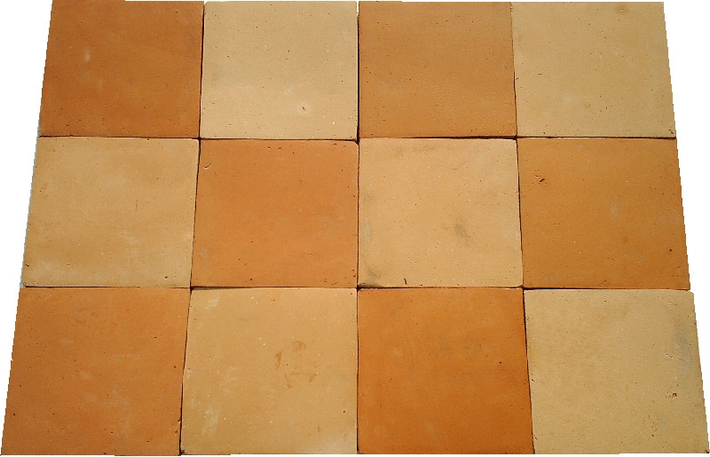 Square 12x12x1 Pak Clay Floor Tiles Pakistan