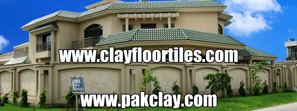 Green Glazed Roof Tiles