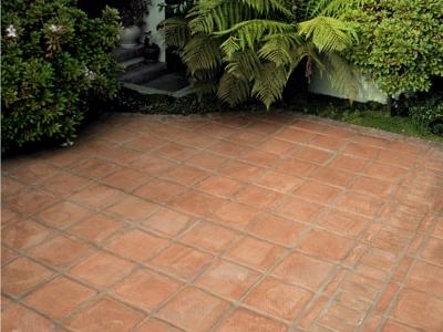 Green Environmentally Friendly Floor Tiles Designs.