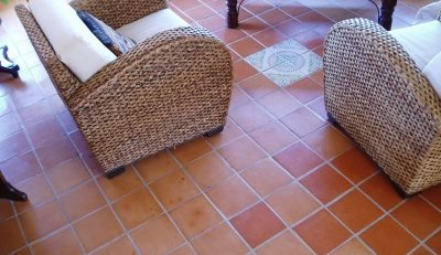 Terracotta Floor Tiles Design For Living Room in Lahore