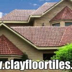 Brown Glazed Clay Roofing Tiles