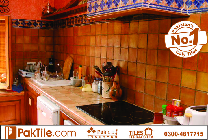 Kitchen types of floor tiles design ideas pictures remodel pak clay floor tiles pakistan for Kitchen design in lahore pakistan