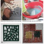 Clay, Jally, Netting, Tiles, Pakistan
