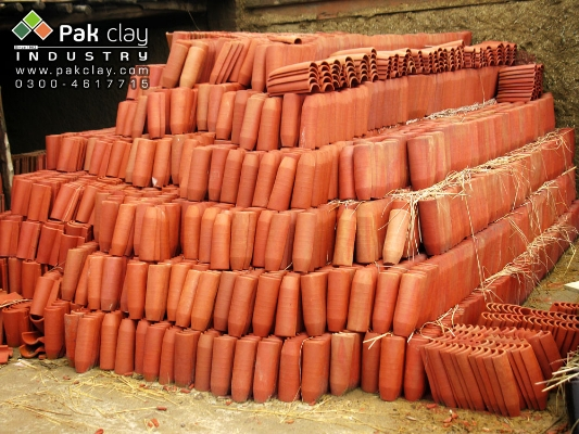 Different types of roof tiles in pakistan pak clay floor for Buy clay roof tiles online