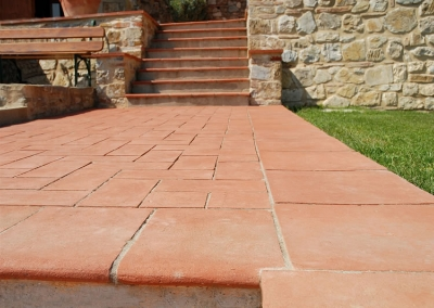 Terracotta Tiles Stairs Designs Ideas, Pictures Style Tiles in Pakistan