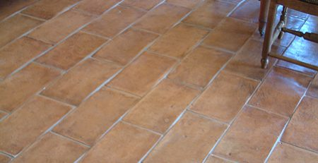Porcelain Tiles vs Terracotta Floor and Wall Tiles.