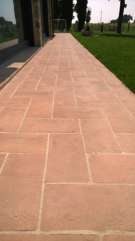 Environmentally Friendly Driveway Terracotta Floor Tiles Products