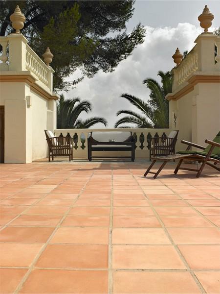Red Tile Floor Home Textures Designs
