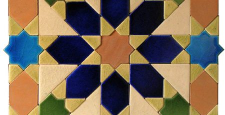 Pak Clay Green Face Geometric Shape Kitchen Mosaic Work Tiles Shop Prices Multicolor Blue Green and Pink Images Karachi Lahore Pakistan