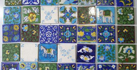 Patterned Wall Tiles in Pakistan