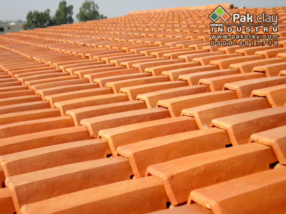 Building materials in pakistan pak clay floor tiles pakistan for Buy clay roof tiles online