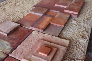 Ash Look Flooring Clay Brick Tiles in Lahore Pakistan