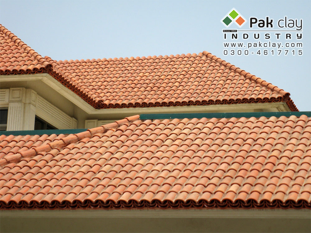 Buy Pak Red Clay Terracotta Ceramic Brick Glazed Natural Marble Khaprail Roofing Materials Tiles Design Factory Shop Low Rates in Lahore Pakistan Images