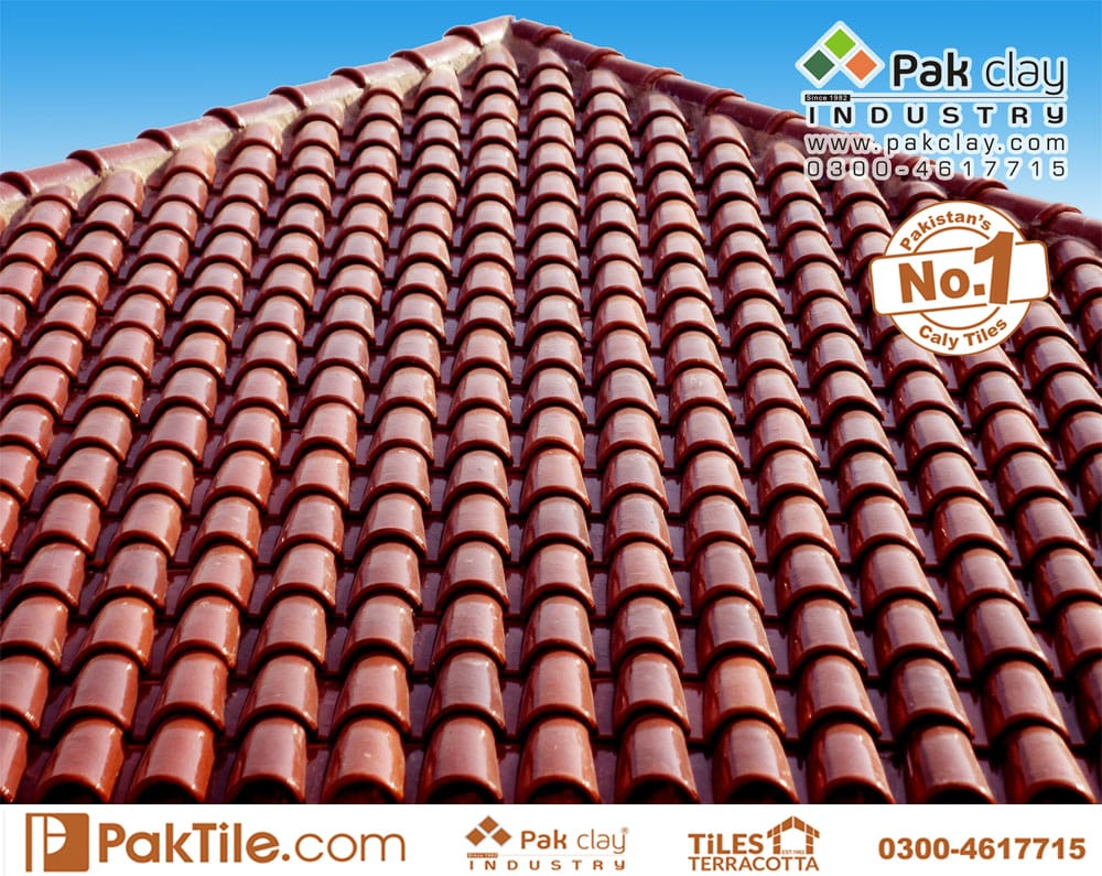 Roof tiles in Pakistan