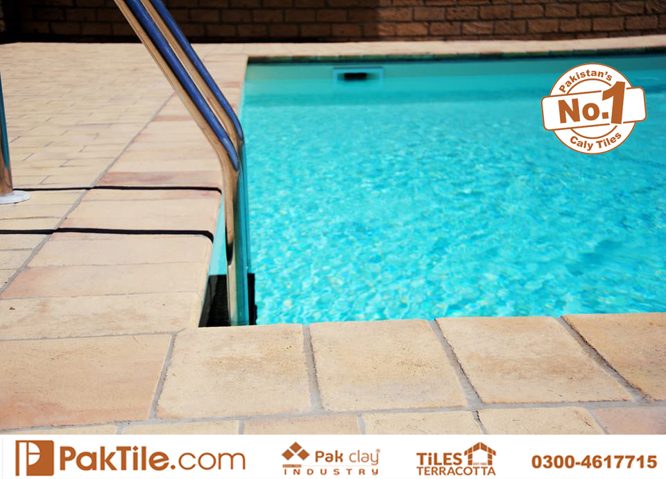 Pak Clay Swimming Pool Tiles Finish in Pakistan Available Size 2x2 inch 3x3 4x4 6x6 inch