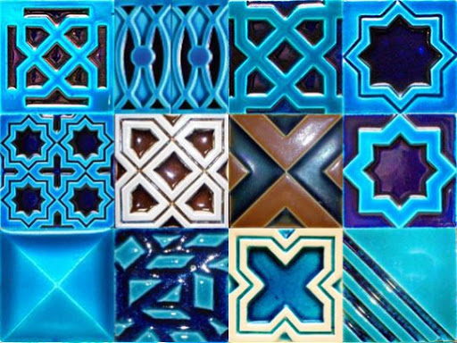 Multani Tiles Blue Pottery in Lahore