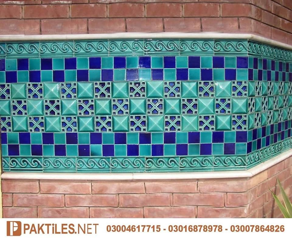 Mosaic multani tiles blue pottery history in pakistan