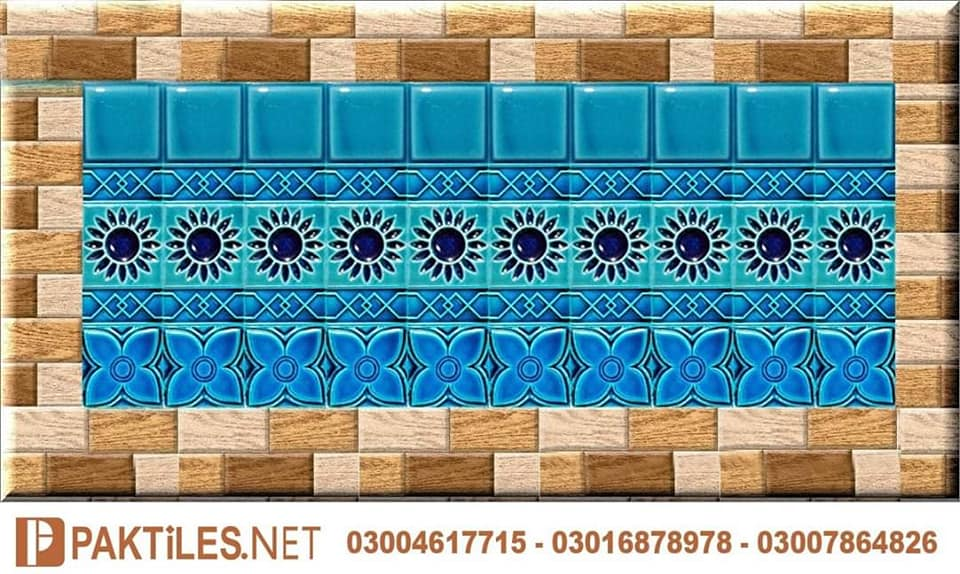 6 Mosaic Multani Tiles Price Blue Pottery Ceramic Art Pakistan