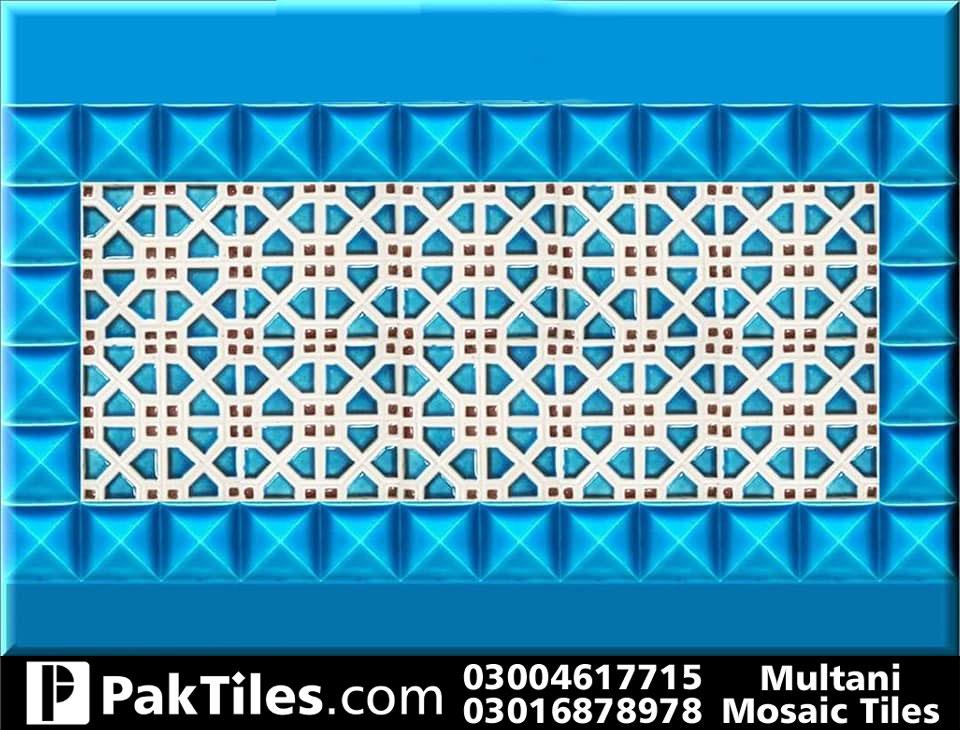 cobalt blue swimming pool tile