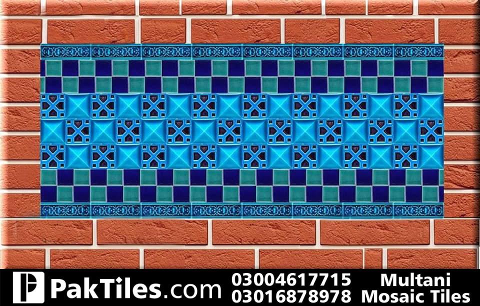 glass mosaic tiles pattern in pakistan