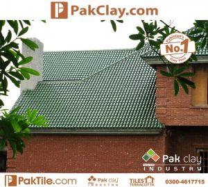 Green Glazed Natural Khaprail Tiles