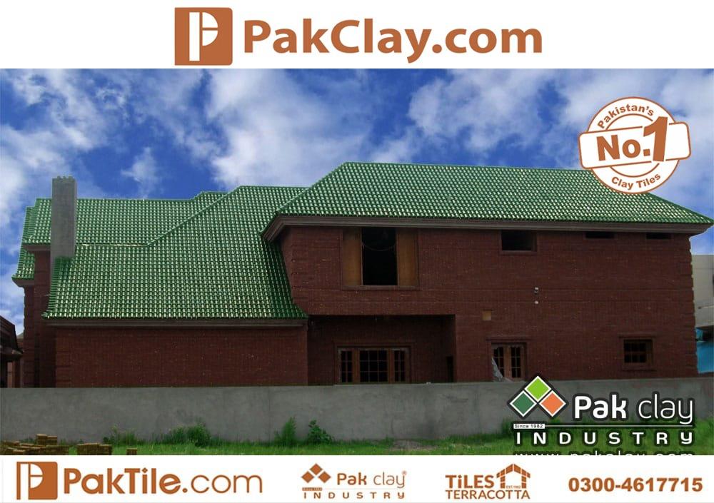 Green Glazed Khaprail Tiles in Rawalpindi