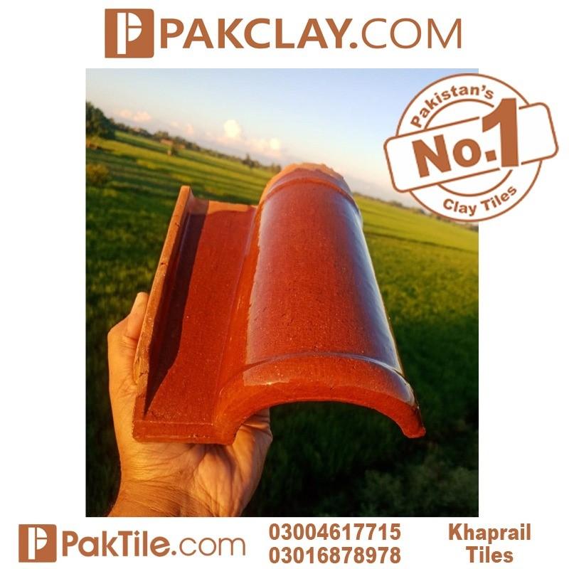natural clay khaprail tile