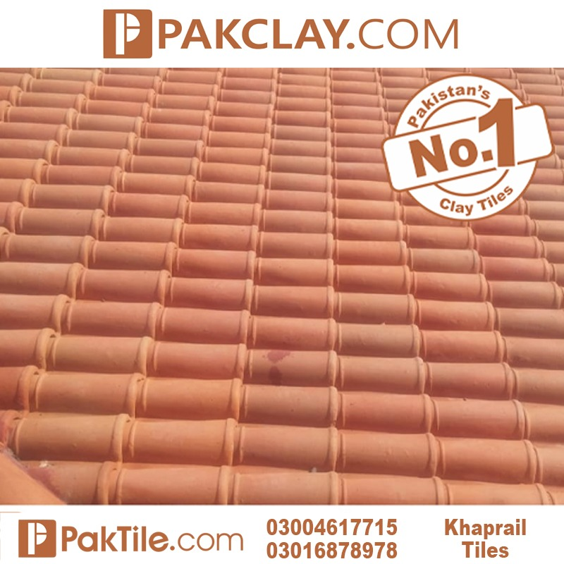 Kagan Khaprail Color Texture Natural Pak Clay Tiles Industry