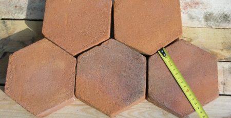 Hexagon Tiles 6x6x1